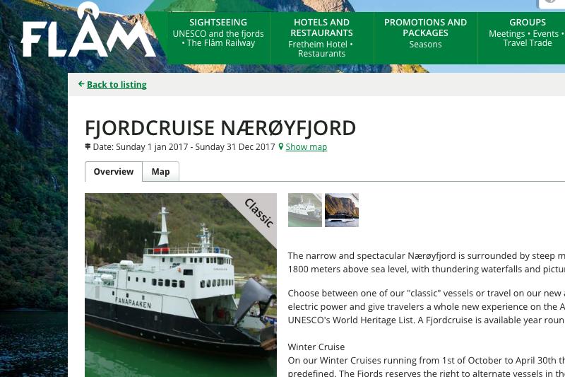 北歐 | 挪威:弗萊姆Flåm到古德凡根Gudvangen渡輪訂票教學