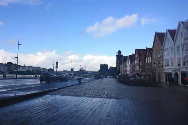 北歐。挪威 | 卑爾根:漫步在寧靜北歐風彩色小鎮