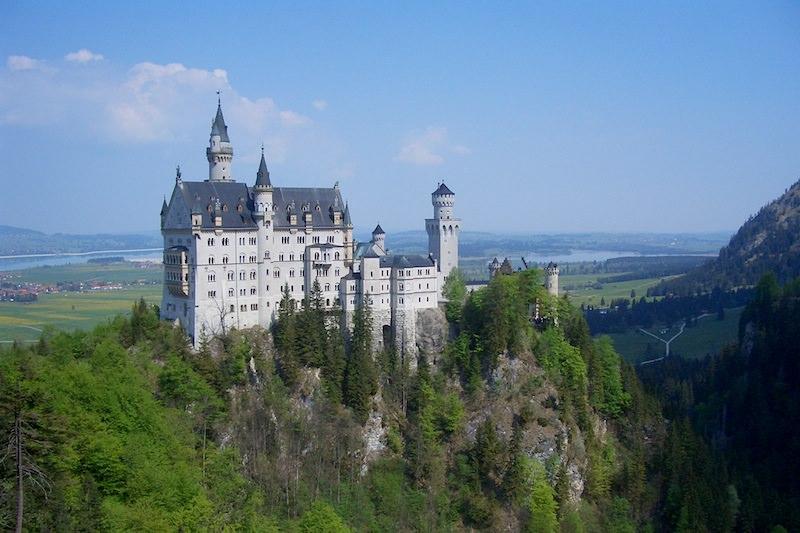 德國 | 新天鵝堡:童話世界中的佼佼者