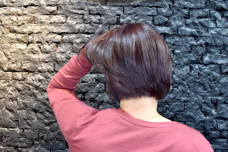 台北.士林 | Bravo Hair Salon:打造春夏清爽具質感的橘紅短髮造型