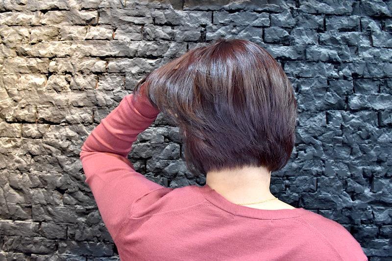 台北.士林 | Bravo Hair Salon 春夏清爽質感的橘紅新短髮造型