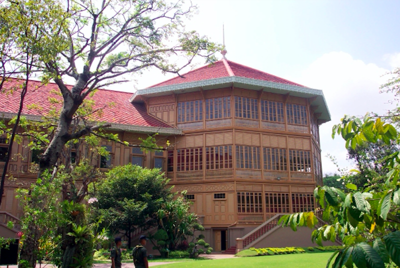 泰國 | 曼谷維曼默宮:醉心泰式皇宮慢遊之旅