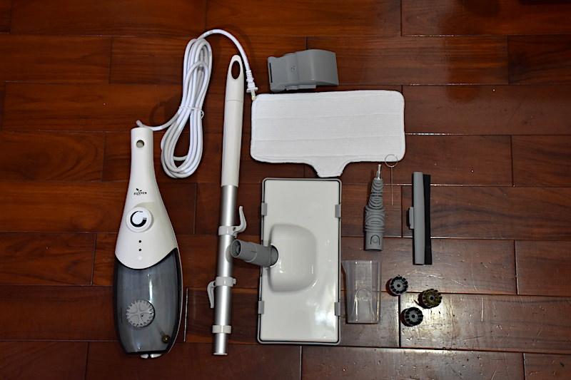 推薦「有樂紛Euleven多功能蒸氣清洗機」:廚房、地板、細縫居家清潔好幫手