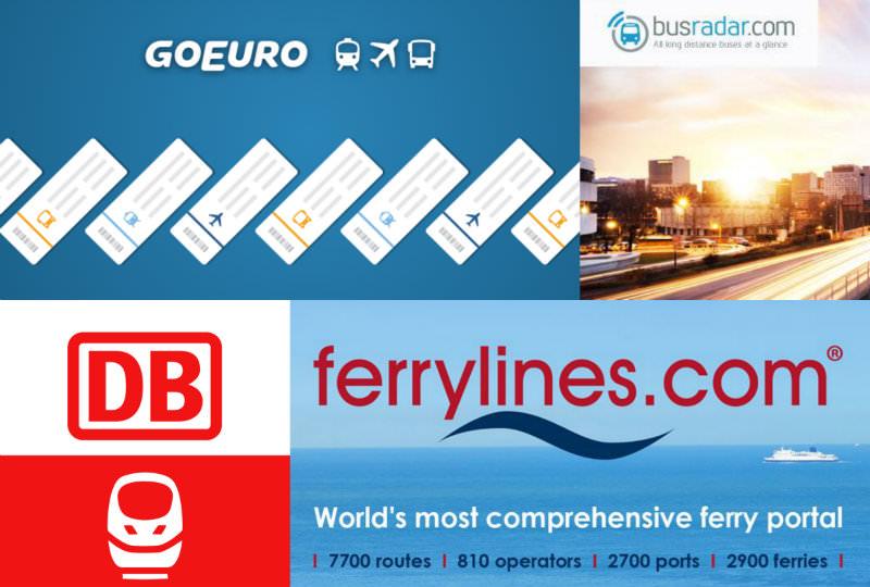 歐洲自由行 | 4家歐洲交通比價網查詢攻略(飛機、火車、巴士、渡輪、BlaBla拼車)