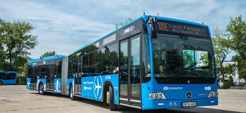 匈牙利 | 布達佩斯:如何搭100E藍色公車往返市區 – 李斯特·費倫茨國際機場