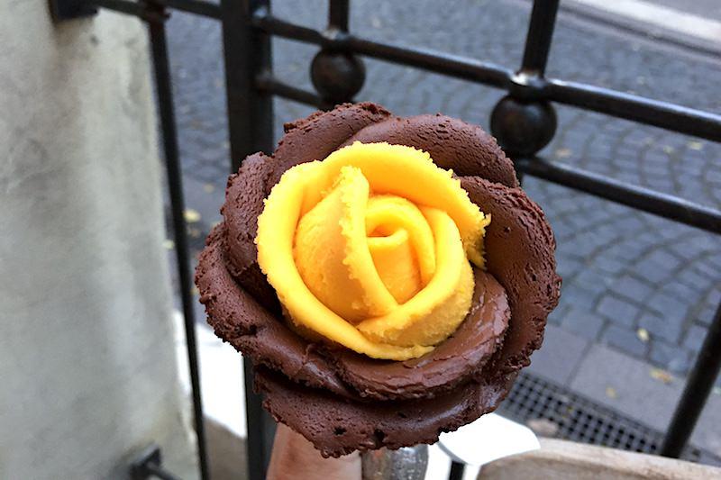 匈牙利 | 布達佩斯:Gelarto Rosa 繽紛平價玫瑰花冰淇淋