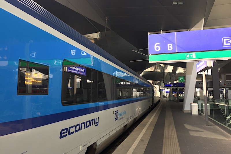 捷克 | 從布拉格中央車站到維也納中央車站的最早班火班乘車體驗