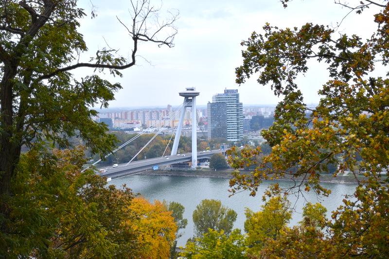 斯洛伐克 | 布拉提斯拉瓦城堡:眺望多瑙河.老城區.UFO觀景台