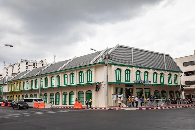 曼谷4個MRT藍線新地鐵站通車,輕鬆搭到大皇宮.臥佛寺.鄭王廟.中國城