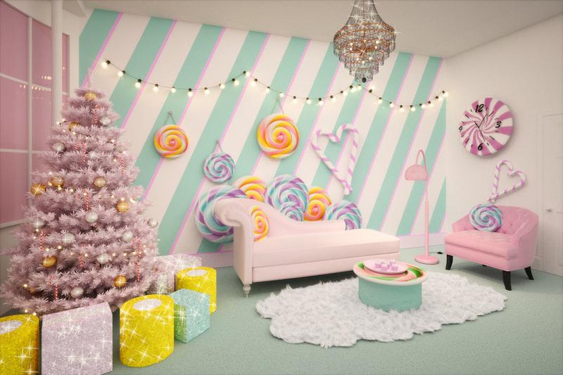 入住聖誕童話房不是夢!Booking獨家快閃「倫敦糖果屋」限時預訂