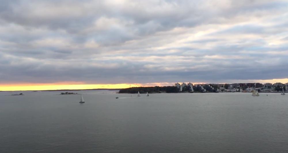 芬蘭灣風景隨手拍,搭St Peter Line從赫爾辛基到聖彼得堡