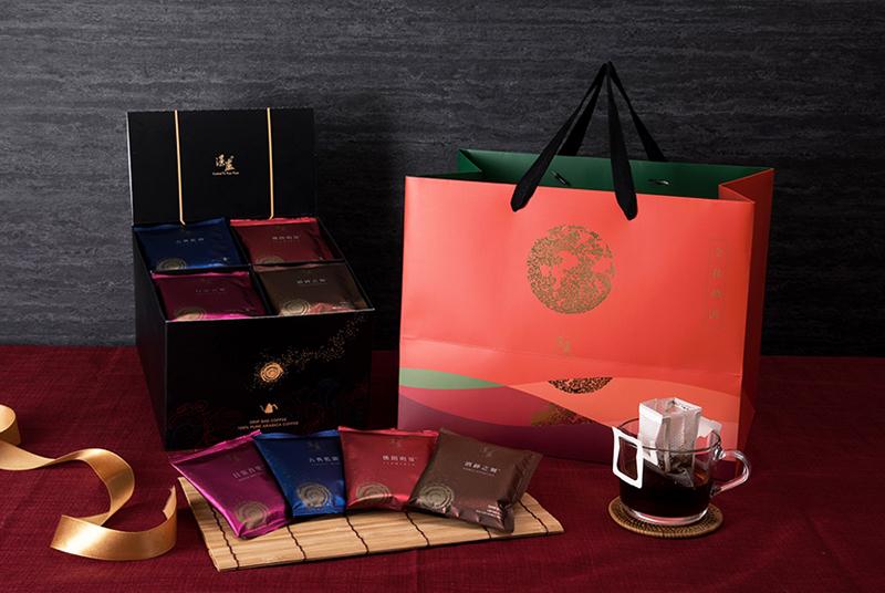 湛盧濾掛式咖啡包,4款經典風味混搭的中秋禮盒推薦