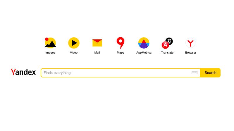 俄版Google搜尋器「Yandex」,俄羅斯旅遊應該知道的三兩事