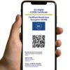歐盟數位疫苗護照免費申請,掃描QR Code便利入境歐洲