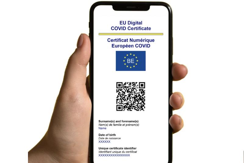 歐盟數位疫苗護照免費申請,掃QR Code玩歐洲
