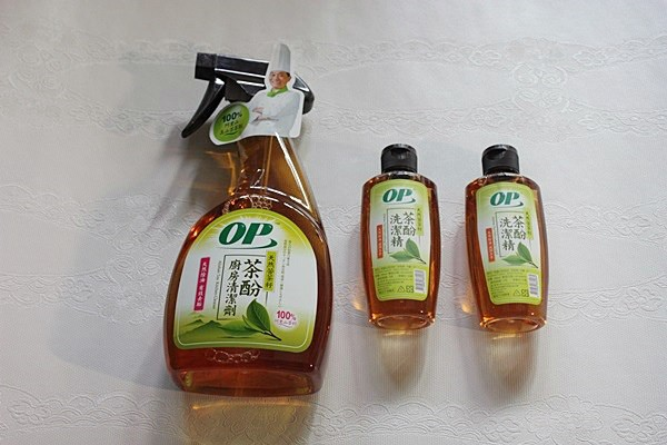 【OP天然茶酚洗潔精&廚房清潔劑】阿基師代言廚房清潔好物