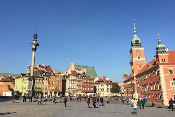 【德波。行】我從陌生中認識的波蘭印象(五):華沙老城