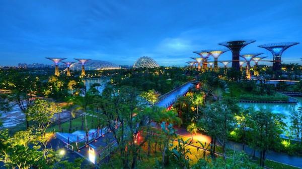 新加坡 | 3大免費夜間燈光秀浪漫推薦