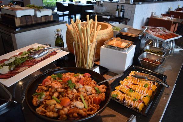 台北美食 | 寒舍艾麗La Farfalla義式料理:水果入新菜 挑動夏日清新味蕾