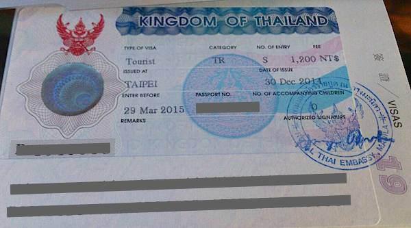 2017申辦泰國觀光免簽證費必知10大重點