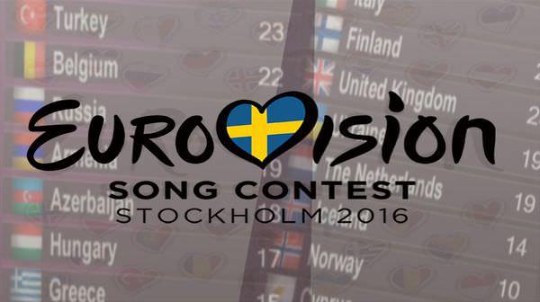 2016 Eurovision Song Contest,聆聽10首歐洲歌手音樂玩歐洲