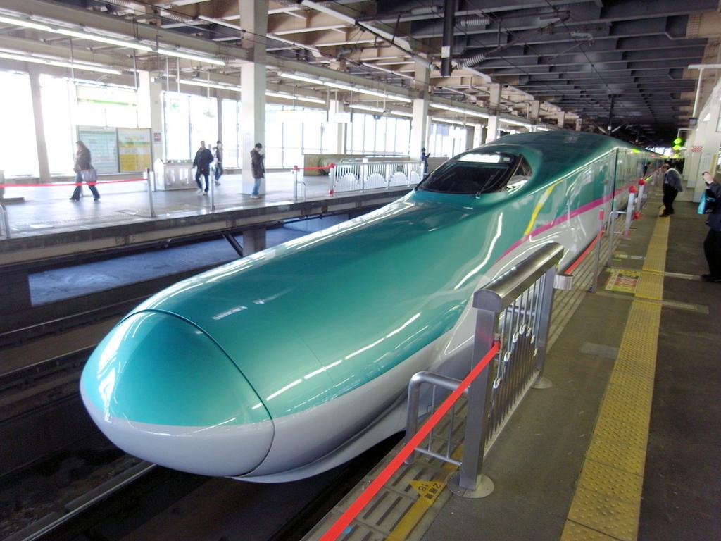 DAY2-4.4.12。東京東北一人の櫻雪之旅。花卷泡湯
